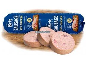 Brit Premium Sausage with Chicken and Rice 800g