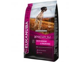 Eukanuba Dog Premium Performance Working and Endurance Hmotnost  3kg