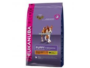 Eukanuba Puppy and Junior Medium Breed Hmotnost  15kg
