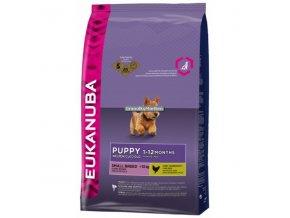 Eukanuba Puppy and Junior Small Breed Hmotnost  7,5kg