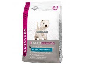 Eukanuba West Highland White Terrier Hmotnost  2,5kg