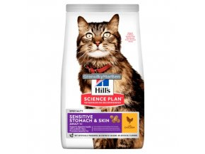 Hill's Feline Adult Sensitive Skin 5kg