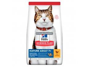 Hill's Feline Senior Chicken 10kg
