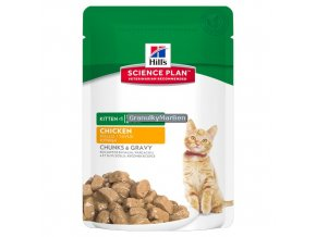 Kapsička Hill's Feline Kitten Chicken 85g