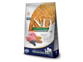 ND Low Ancestral Grain canine Puppy Medium Maxi LAMB