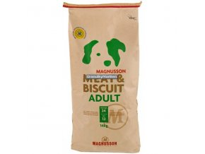 Magnusson Meat and Biscuit Adult 14kg