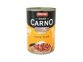 Konzerva Animonda Gran Carno Adult Hovězí a krůta 400g