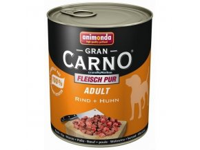 Konzerva Animonda Gran Carno Adult Hovězí a kuřecí 800g