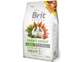 Brit Animals Rabbit Adult Complete (Králík) 1,5kg