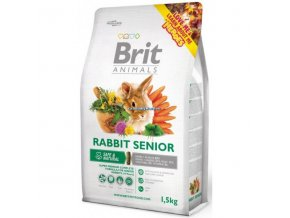 Brit Animals Rabbit Senior Complete (Králík) 1,5kg