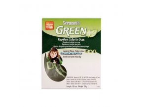 Sergeanťs Green antiparazitní obojek pro psy 60cm