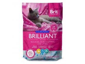 Podestýlka Brit Care Brilliant Silica-gel 7,6l
