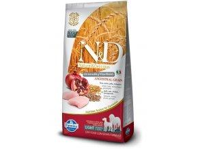 ND Low Ancestral Grain canine Adult LIGHT Medium Maxi CHICKEN