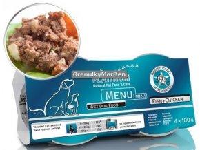 Platinum Dog Menu Pastika Kure ryby Mini