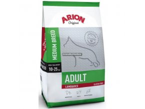Arion Dog Original Adult Medium Lamb and Rice 3kg