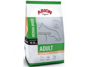 Arion Dog Original Adult Medium Salmon and Rice 3kg