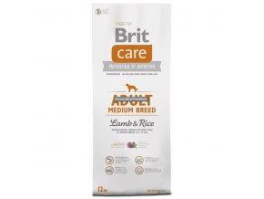 Brit Care Dog Adult Medium Breed Lamb & Rice