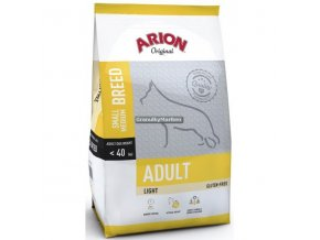 Arion Dog Original Adult Small and Medium Light 12kg