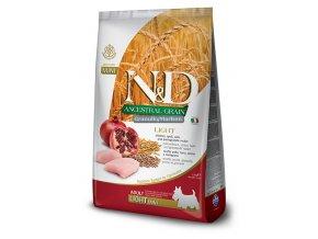ND Low Ancestral Grain canine Adult LIGHT Mini Medium CHICKEN