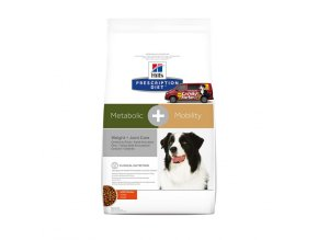 Hills canine diet metabolic and mobility