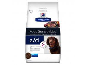Hills canine diet zd mini