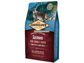 carnilove cat salmon sensitive long hair