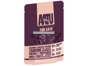 AATU Cat Salmon n Chicken n Prawn kaps 85g