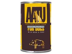 AATU Dog Wild Boar n Pork konz 400g